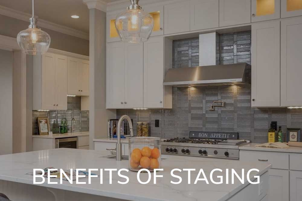 Staged homes statistically sell faster, here's why.